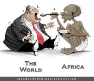 Back to Africa so that we can help stop the looting!